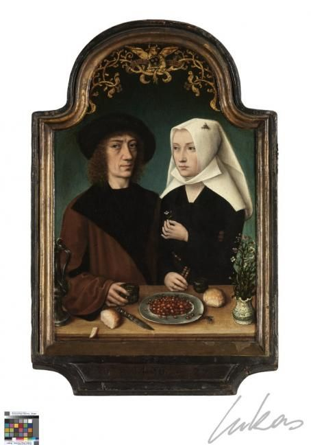 The Painter and His Wife (1496)