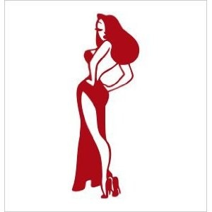 Vinyl Decal -- Jessica Rabbit