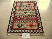 Kilim kirim battaniye/egzotik moda/yün el yapımı halılar/KM-69