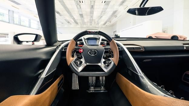 BBC - Autos - Toyota FT-1 gets a stunning new coat