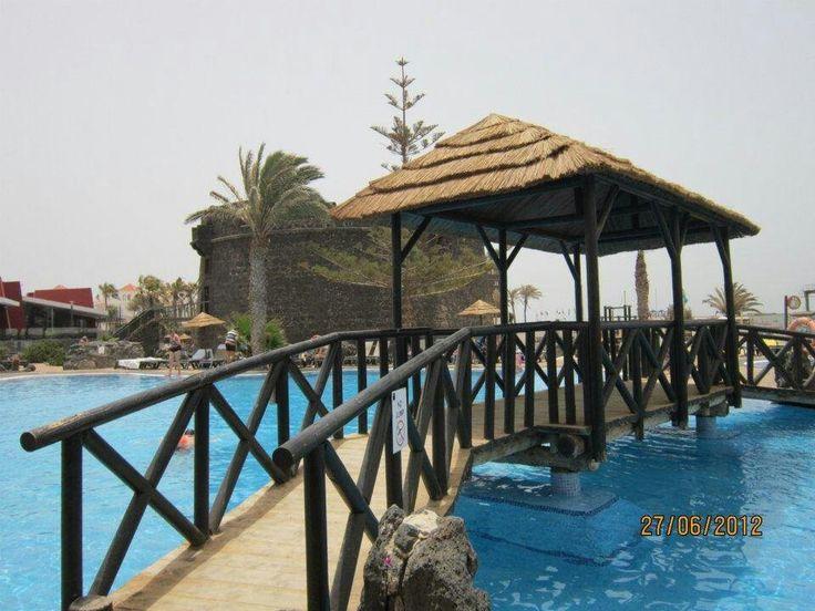Pool at hotel complex in Costa Caleta
