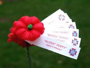 Oak Lawn VFW Poppy Days-May 1,2,3 in Oak Lawn IL.   Post and Ladies Auxiliary members will be handing out the 'little red flowers' through out the town. Contributions  support VFW Veteran Assistance Programs.