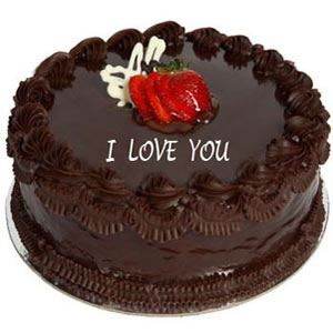 Love Chocolate Cake - 1 kg  The tasty and delicious taste of this 1 kg. Chocolate Cake will be a real treat on any occasion. The rich taste of chocolate coupled with topping will be a real delight for your special one.