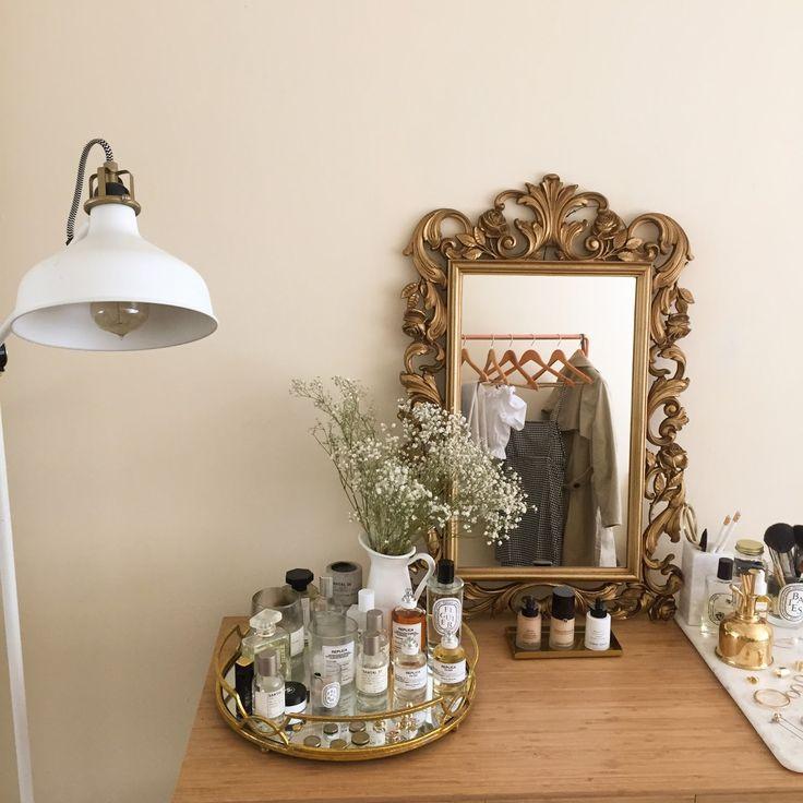new interiors: the antique mirror