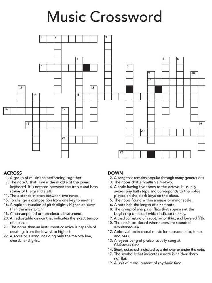 Preschool Crossword Puzzles For Adults Best Coloring Pages For