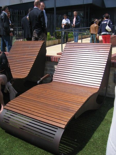 21 best transats urbains design stylish urban deck chairs images on pinterest beach chairs. Black Bedroom Furniture Sets. Home Design Ideas