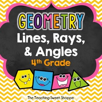 {FREEBIE} Lines, Rays, and Angles Lesson for 4th Grade!