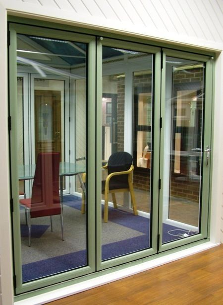 Attractive Bifold Exterior Doors | Folding Doors 2 U | Timberlook UPVC Bifold Doors |  Supply Only
