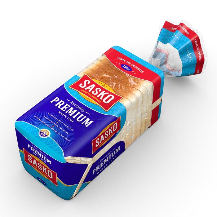 Sasko bread Pack-shot 3D illustration : by Disko Ferdi Dick