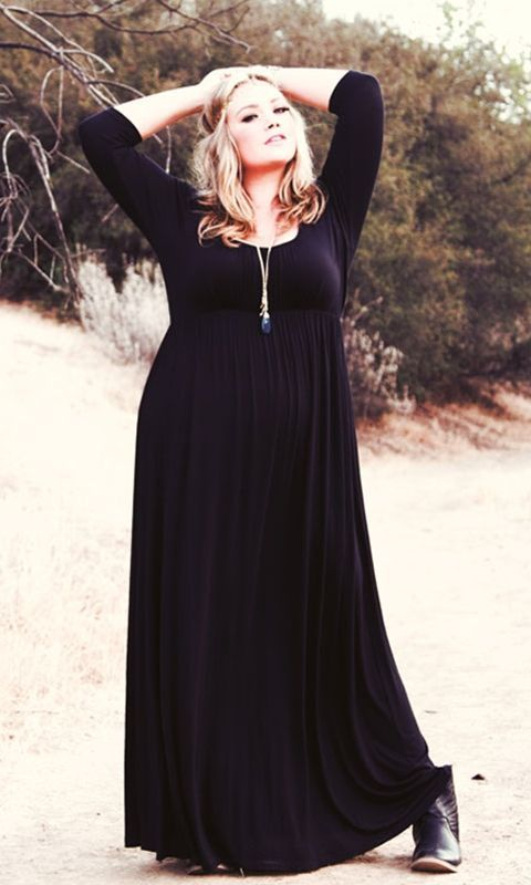 5 beautiful plus size maxi dresses - plus size fashion for women