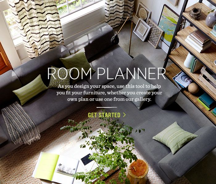 Planning a master bedroom? Use west elm's Room Planner tool to experiment with space planning + layout!