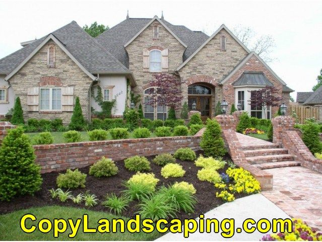 Awesome  Home Landscaping Without Grass