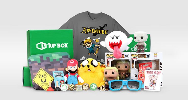 1Up Box is the most epic and most affordable monthly subscription box for geeks and gamers for under $20.