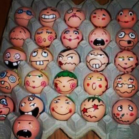 Dit weekend twintig eieren versieren. Verstoppen. Zoeken. En opeten. Poeh!
