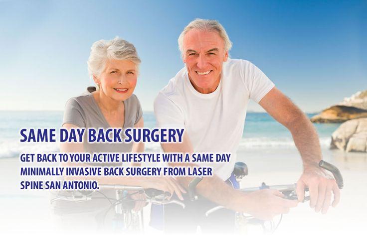 Minimally Invasive Surgery Same Day Back Surgeries