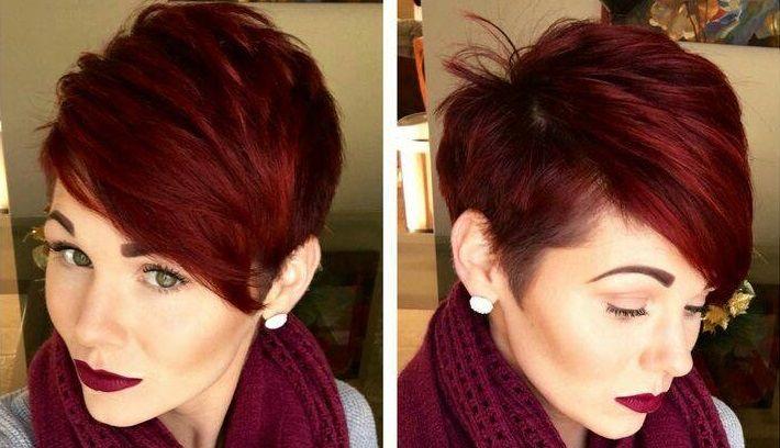 Rood is een warme kleur die echt bij de winter past. Ga je voor knalrood, bordeauxrood of oranjerood? Bekijk deze 12 rode korte kapsels en kies een mooi model uit dat perfect bij je past..