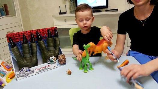 VLOG Хороший динозавр _ Огромные когти тираннозавра
