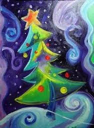 Whimsical Christmas Tree 1