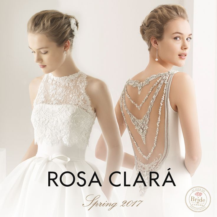Rosa Clara, Spring 2017, as seen on dressfinder.ca
