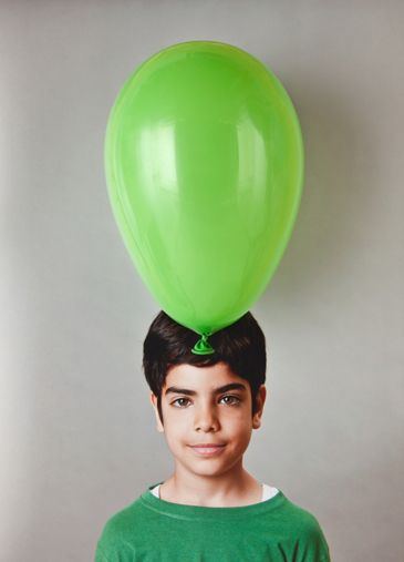 Can the brain grow larger than the head?