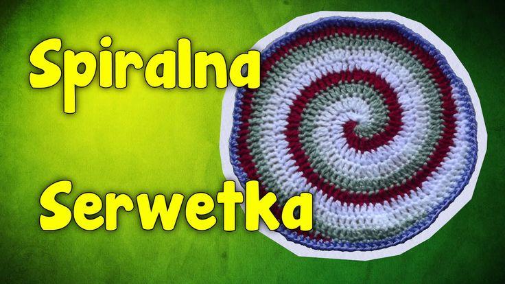 Spiralna Serwetka - Szydełkowanie bez tajemnic