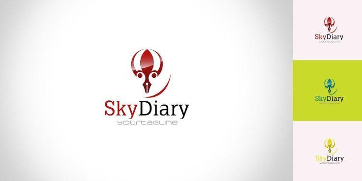 SkyDiary - Logo Template
