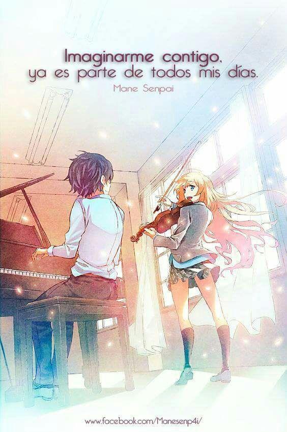 Frases del anime shigatsu wa kimi