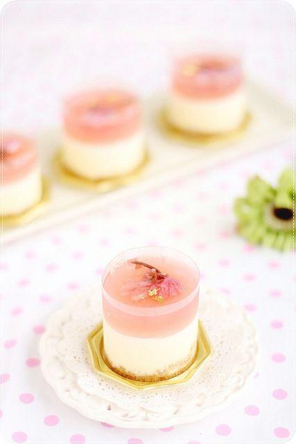 A delicate, gorgeous and Japan-sized seasonal sakura dessert: 'Sakura Rare Cheese Dessert'