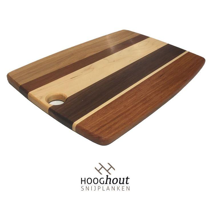 Hooghout Snijplanken Foodies Snijplank 40x28x1,5cm