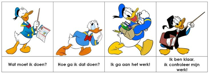 Donald Duck - Meichenbaum methode!