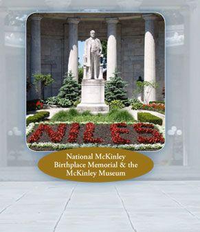 McKinley Memorial & Library, in Niles Ohio