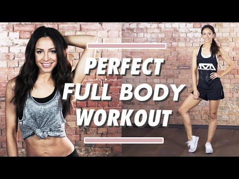FAT BURNING + TONING Full Body Perfect Workout | Danielle Peazer Compilation - YouTube
