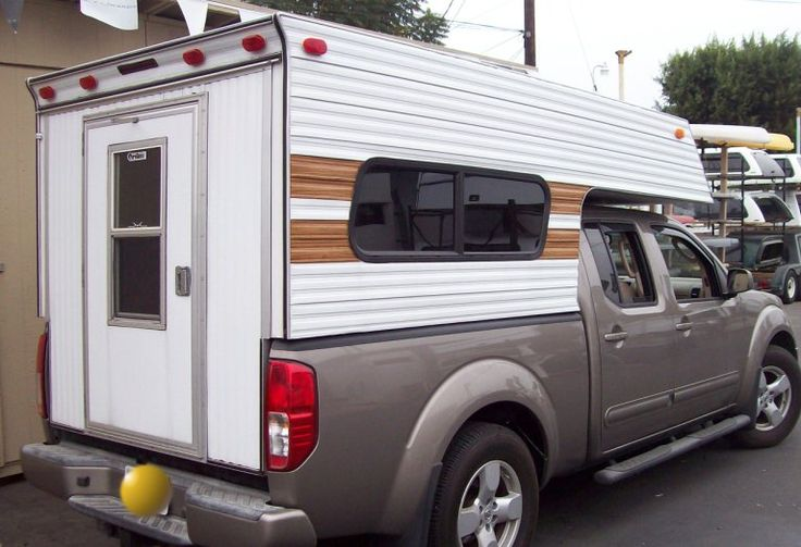 Bel Air Camper Shells Wood N Alum Camping Camper