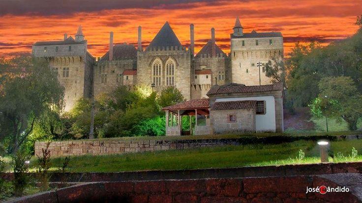 Paço dos Duques de Bragança, Guimarães, Portugal