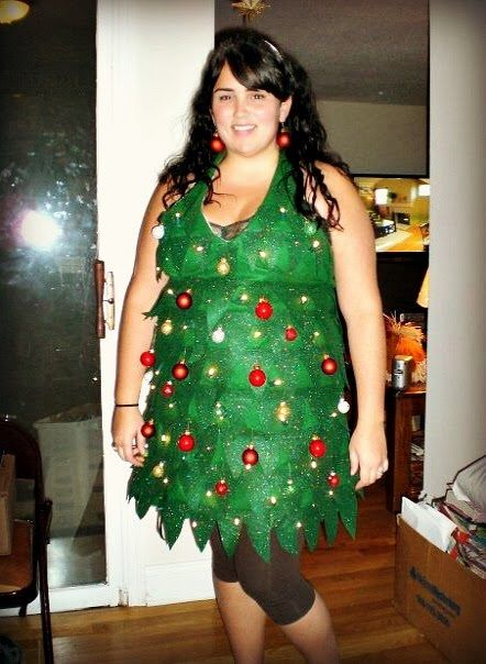 Diy Christmas Tree Costume Christmas Tree Costume