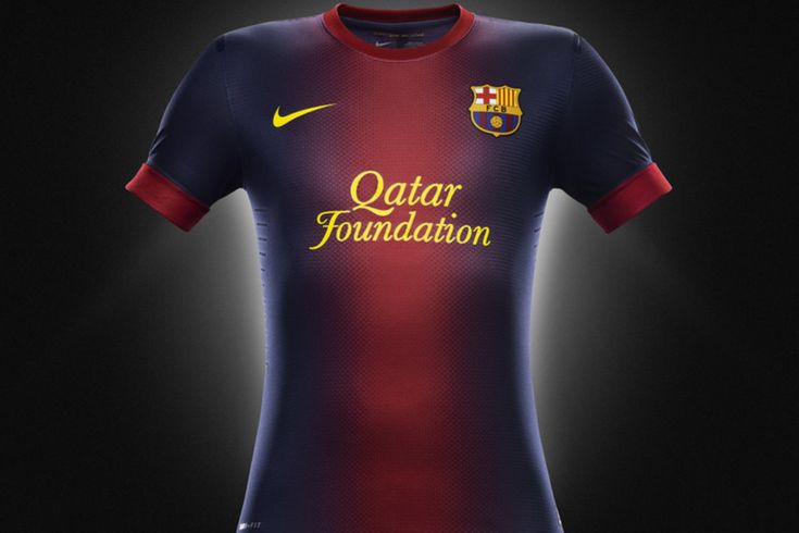 Official Barcelona Kit 2012/13  The most beautiful jersey in soccer ❤