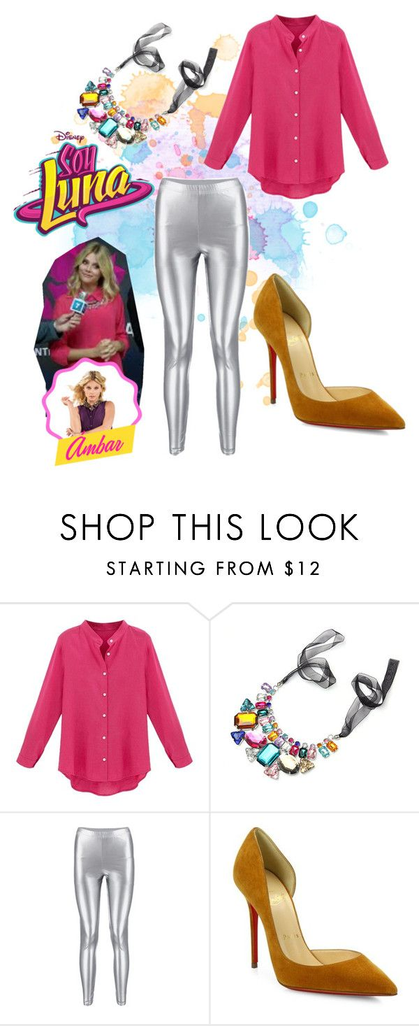 """soy luna"" by maria-cmxiv on Polyvore featuring Christian Louboutin"
