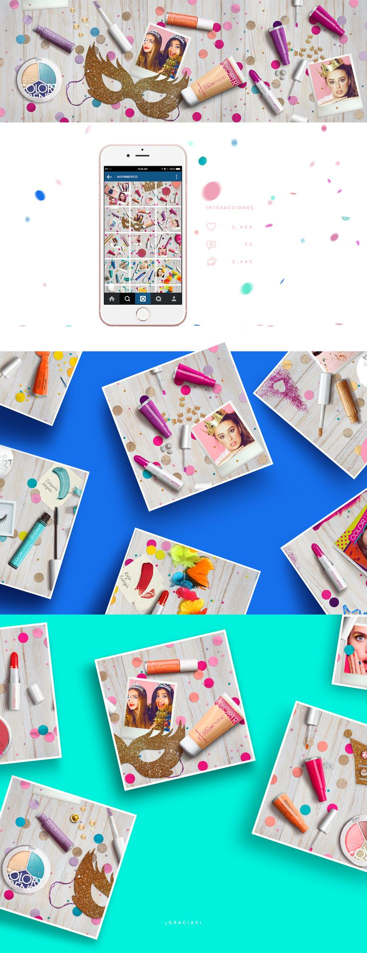 AVON Color Carnaval on Behance