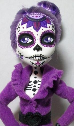 Monster High Custom Spectra Day of The Dead Dia de Los Muertos OOAK | eBay