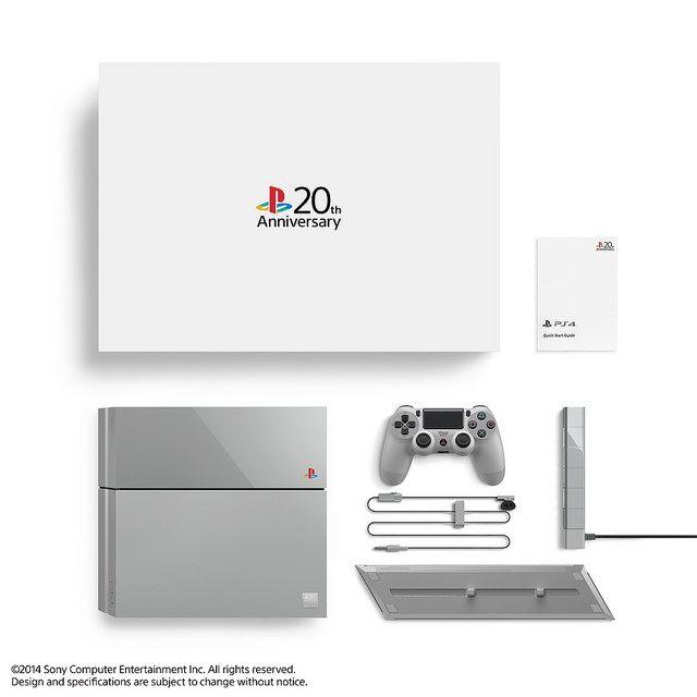PlayStation®4 20周年紀念版 全球限量發售12,300台