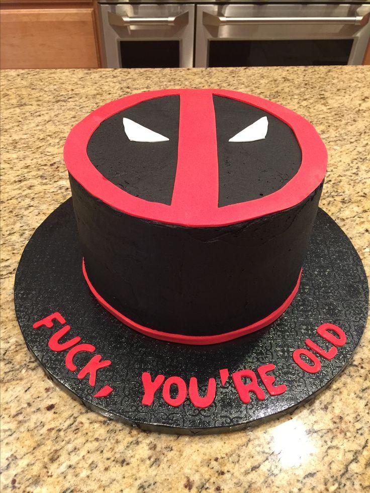17 Best Ideas About Deadpool Cake On Pinterest Marvel