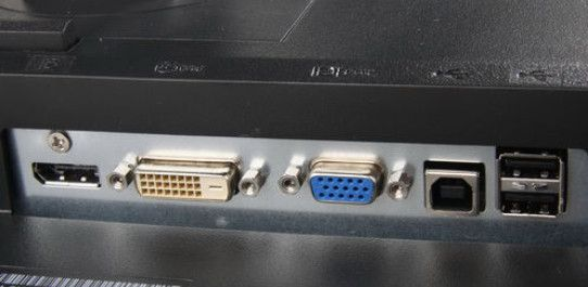 computer connect DISPLAYPORT  DVI VGA