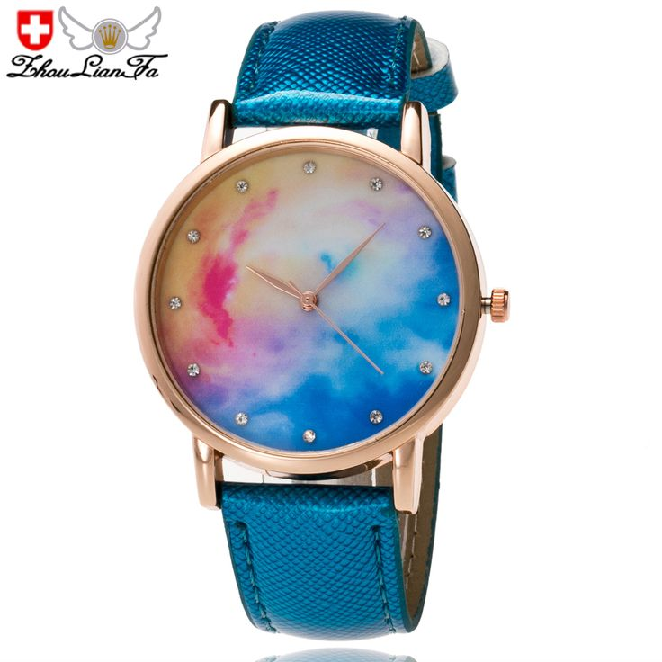 ZhouLianFa fashion Crystal Diamond-Studded Quartz Watch