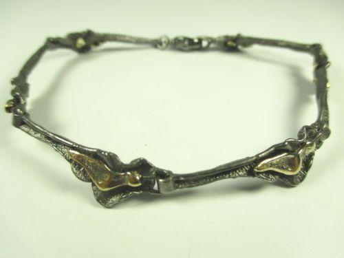 M-P-Designer-Armband-925-Sterling-Silber-Modernist-silver-bracelet-j70-N4