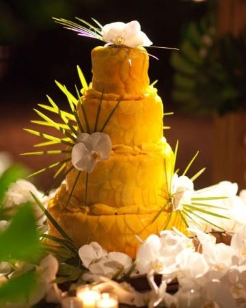 Mango-and-Coconut Rum Cake