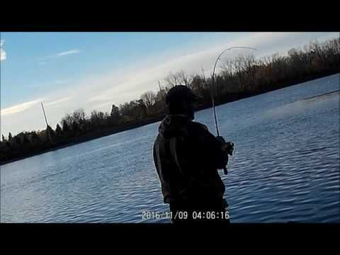 Fishing Columbiaville Michigan - YouTube