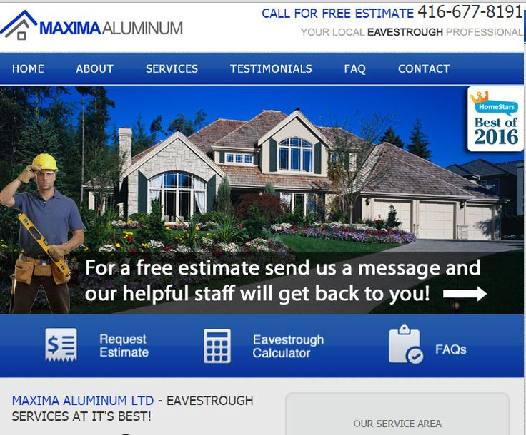 Eavestrough, Downspout, Soffit and Fascia installation and repair in Mississauga, Brampton, Oakville, Milton
