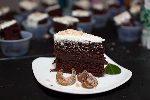 Thai chocolate cake recipe