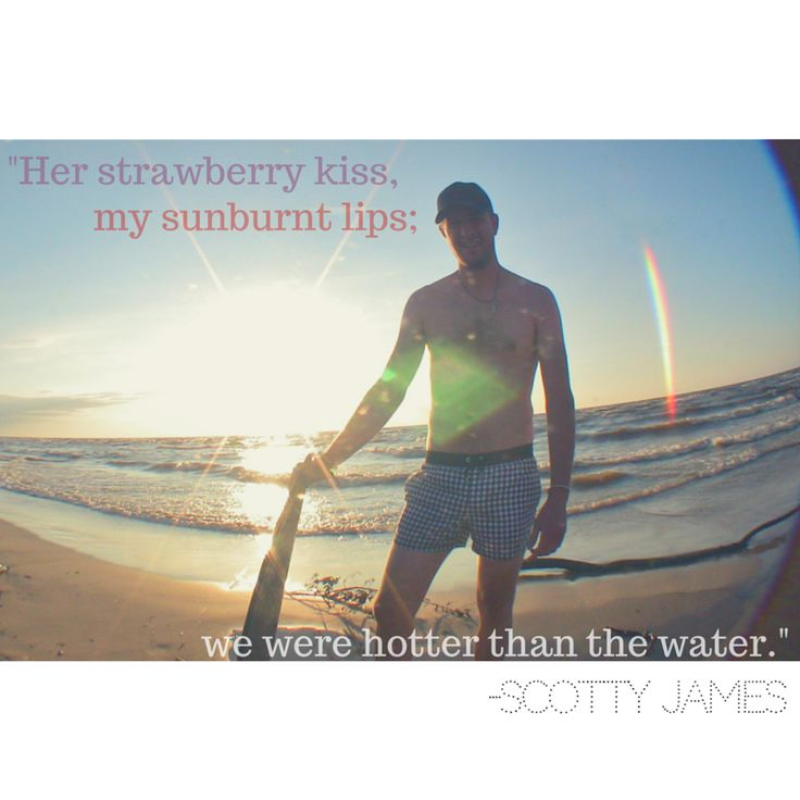 "Lyrics from song ""Cancun"" by Scotty James"