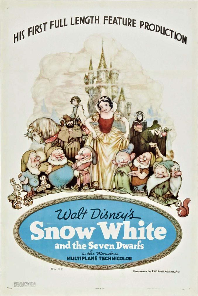 TBT: See All 53 Walt Disney Animation Movie Posters | Oh My Disney-neat to start at the beginning and see them progress.